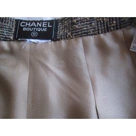 Chanel-pantalon droit et large-Autre