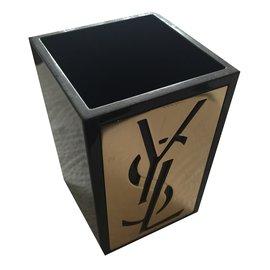 Yves Saint Laurent-pot à crayons ou a coton-Autre