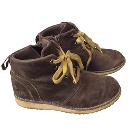 Clarks-Bottes, bottines-Marron