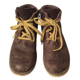 Clarks-Boots-Brown