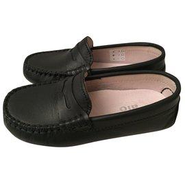Autre Marque-Oxfords Loafers-Blue