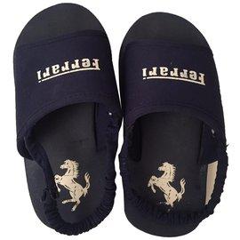 Autre Marque-Kids Sandals-Blue