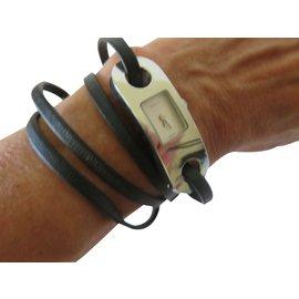 Gucci-6100L Bracelet multiples tours-Argenté