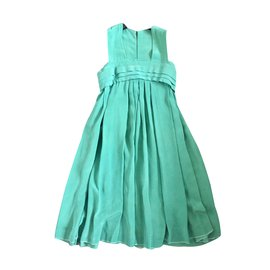 Chanel-Robe-Vert