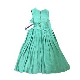 Chanel-Dress-Green