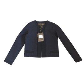 Louis Vuitton-Tailleur jupe-Bleu