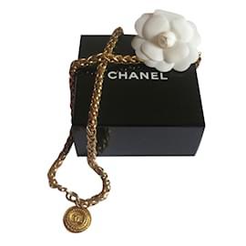Chanel-Sautoir Chanel-Doré