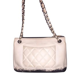 Chanel-Handbag-Black,White