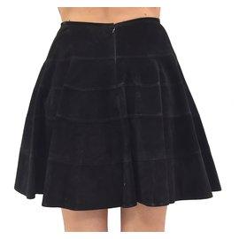 Alaïa-Tailleur jupe-Noir