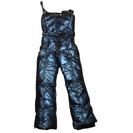 Manudieci-Combinaison de ski-Bleu