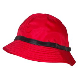 Burberry-Rain Hat-Red