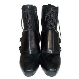 Céline-Bottines-Noir