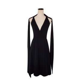 Céline-Dress-Black