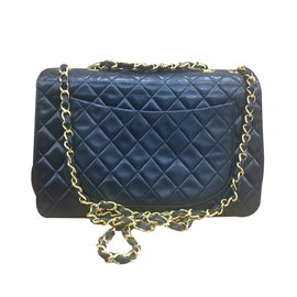 Chanel-MAXI JUMBO-Noir