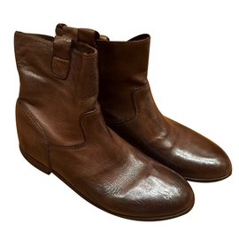 Bonpoint-Bottes, bottines-Marron