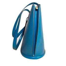 Louis Vuitton-Tote-Blue