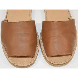 Autre Marque-Kids Sandals-Golden,Caramel