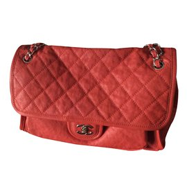 Chanel-Sac à main-Rouge