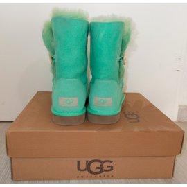 Ugg-Bottes-Vert