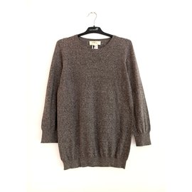 Isabel Marant Etoile-pull fin Tracy-Gris