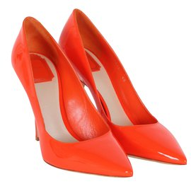 Christian Dior-Escarpins-Orange