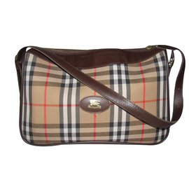 Burberry-Handbag-Brown