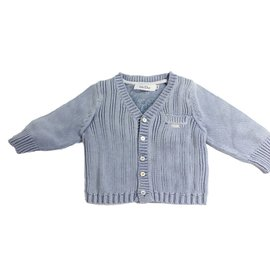 Baby Dior-Cardigan-Bleu