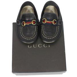 Gucci-Mocassins-Bleu