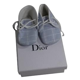 Baby Dior-Sneakers-White,Blue