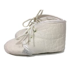Baby Dior-chaussures-Blanc