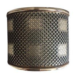 Burberry-Bracelet Manchette Nid d' Abeille de Burberry.-Doré