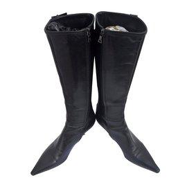 Prada-Bottes-Noir