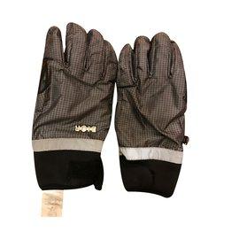 Christian Dior-Hüte Mützen Handschuhe-Grau