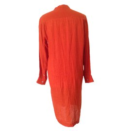 Hermès-Robe-Orange