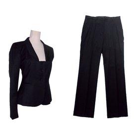 Calvin Klein-Tailleur pantalon-Noir