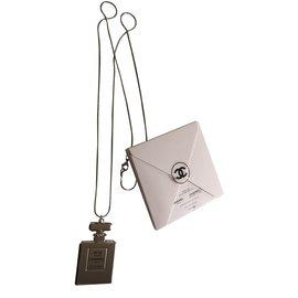 Chanel-Colliers-Argenté