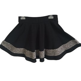 Jean Paul Gaultier-Gelly skirt-Black