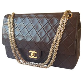 Chanel-timeless-Brown