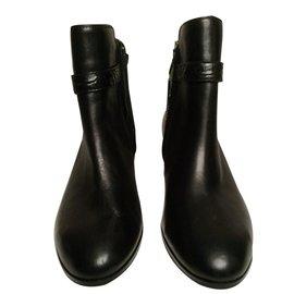 Coach-Ankle Boots-Black