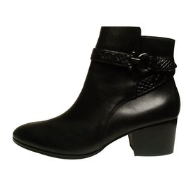 Coach-Ankle Boots-Black