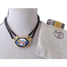 Hermès-Jewellery set-Blue