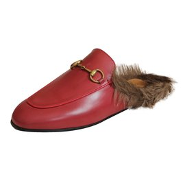 Gucci-Mules PRINCETOWN-Rouge