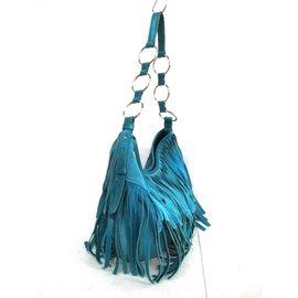 Yves Saint Laurent-Sac à main-Bleu