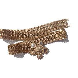 Chanel-Ceinture chaîne bijoux-Doré