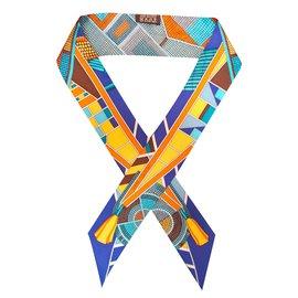 58166274383 Hermès-Foulard-Multicolore Hermès-Foulard-Multicolore