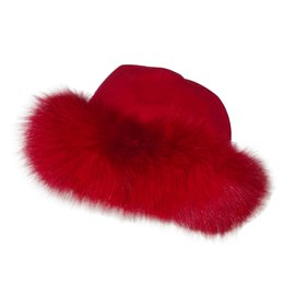Autre Marque-Hat-Red