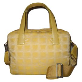 Chanel-Travel bag-Yellow