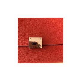 Céline-Celine trapeze large-Rouge