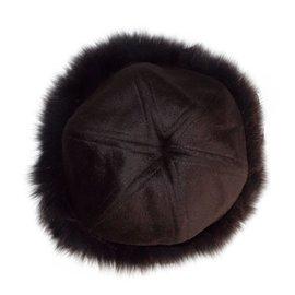 Autre Marque-Hat-Brown