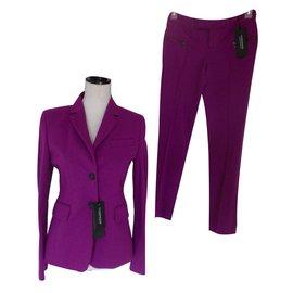 Strenesse-Tailleur pantalon-Violet